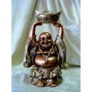 Фън Шуй Хотей (Щастлив Буда) със Златното Кюлче (Голям)